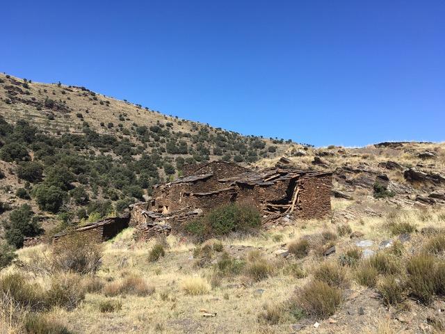 Gebäude Wüstungen Von Bacares ins Tal des Barrancon