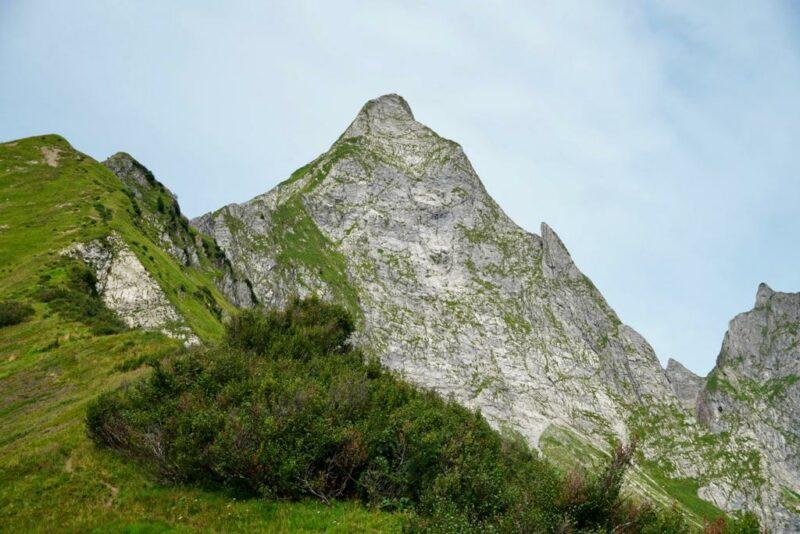 Südostgifpel mit Blick vom Alpsättele