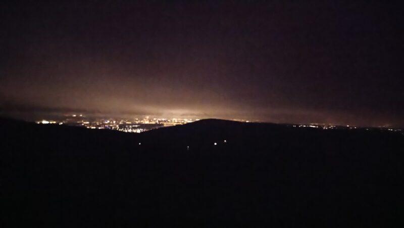 Nachtwanderung auf den Stenzelberg