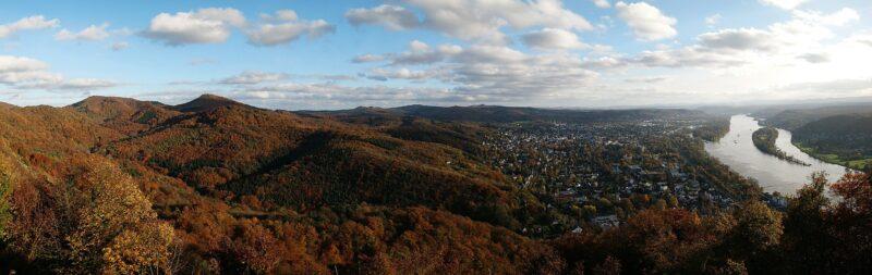 Panoramablick Siebengebirge